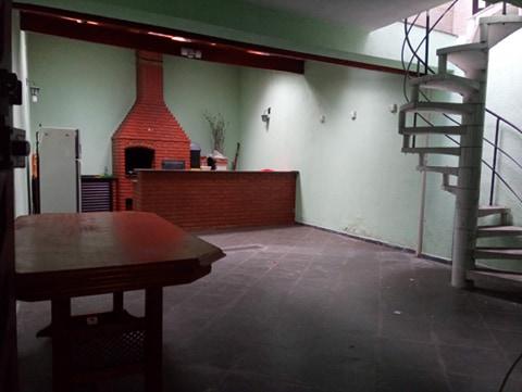 Casa a venda na Rua Etólia, Jardim Santo Antônio, Santo André, SP