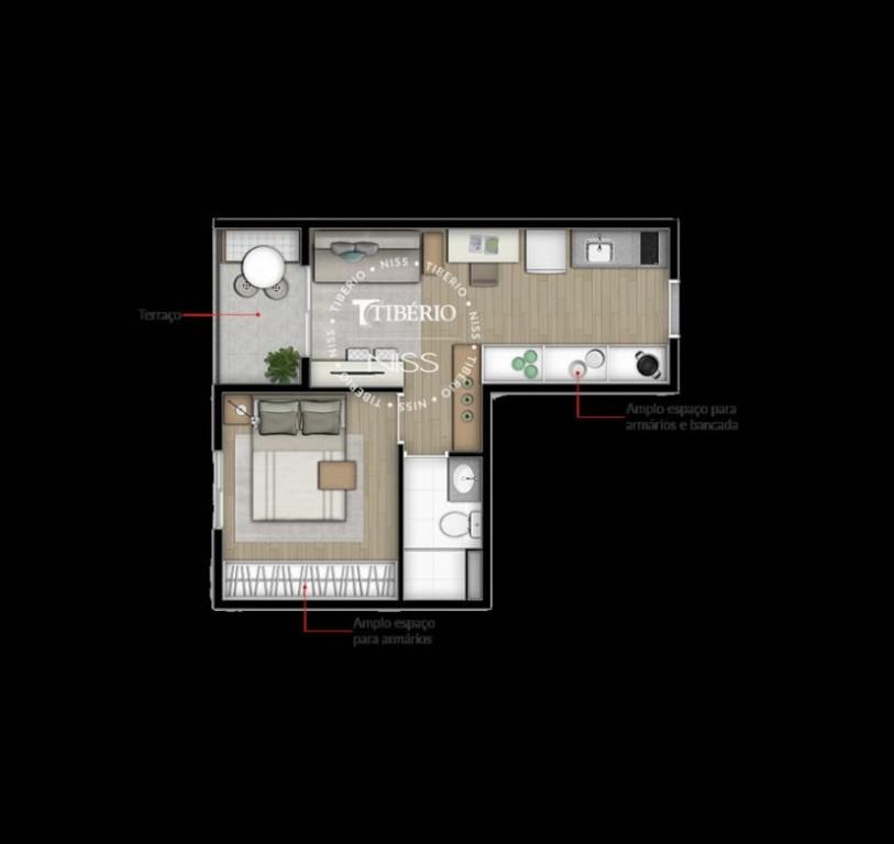 Apartamento a venda na Rua Gaspar Lourenço, Vila Mariana, São Paulo, SP