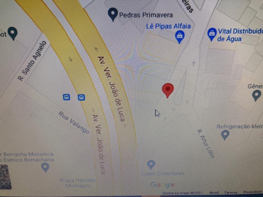 Terreno a venda na Rua Artur Lobo, Jardim Jabaquara, São Paulo, SP