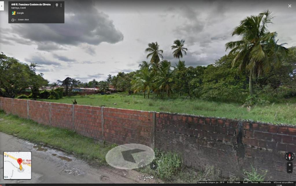 Terreno a venda na Rua Raimundo Alves Carvalho, Centro, Itaitinga, CE