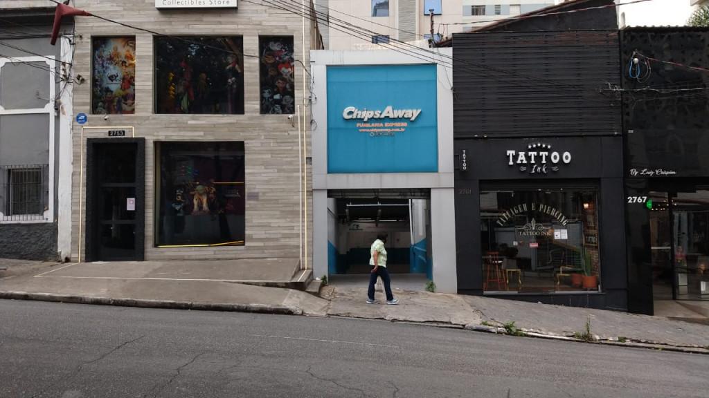 Galpão para locação na Rua da Consolação, Cerqueira César, São Paulo, SP