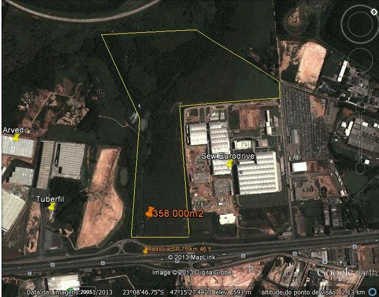 Terreno a venda na Estrada SP 75, KM 46,5, Vila Vitória I, Indaiatuba, SP
